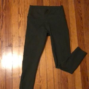 Fabletics green workout pants